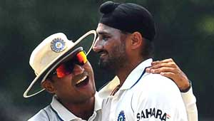 वीरेंद्र सहवाग और हरभजन सिंह
