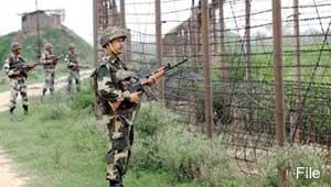 कश्मीर में सेना