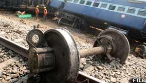 ट्रेन हादसा
