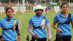 महिला तीरंदाजी टीम