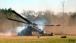 हेलिकॉप्टर क्रैश