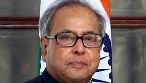 प्रणब मुखर्जी-राष्ट्रपति
