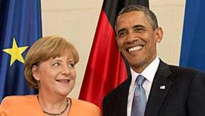 एंजेला मर्केल और बराक ओबामा