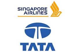 सिंगापुर एयरलाइंस और टाटा