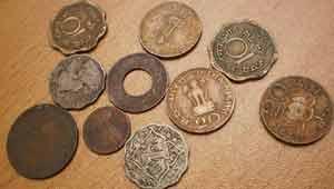 पुरानी भारतीय मुद्रा