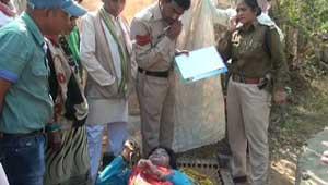 खैरा में महिला की हत्या