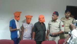 कोरबा में चोर गिरफ्तार