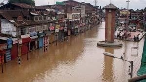 कश्मीर में बाढ़.