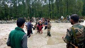 जम्मू-कश्मीर बाढ़
