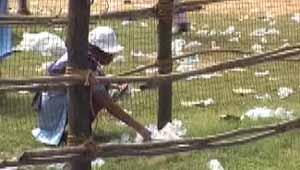 कोरबा में कचरा फैलाओ दिवस