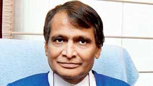 सुरेश प्रभु- रेल मंत्री