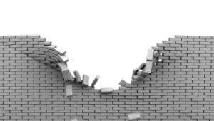 दीवार ढहा