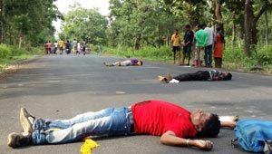 Naxal killed abducated police