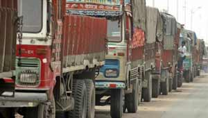ट्रक हड़ताल