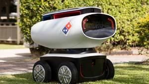 पिज्जा डिलिवरी रोबोट