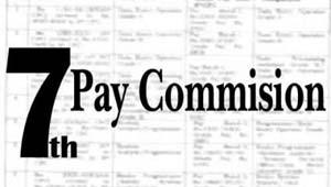 सातवां वेतन आयोग