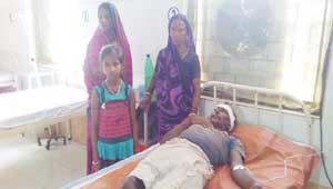 ramavtar hospitalised
