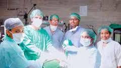 बस्तर में लैप्रोस्कोपिक सर्जरी