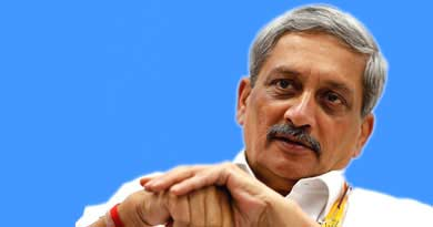 गोवा के मुख्यमंत्री मनोहर पर्रिकर