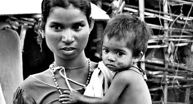 आदिवासी बच्चों की मौत कुपोषण